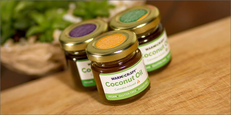 Recenzja oleju kokosowego Warm & Crispy, CBDLeczy.pl
